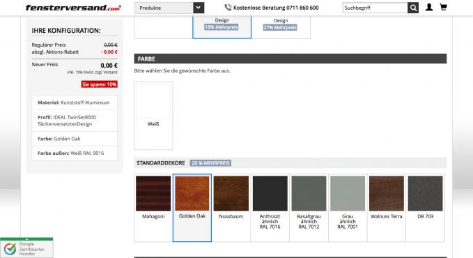 Fenster konfigurator software kostenlos  Fenster-Konfigurator Vergleich und Testsieger - Konfigurator Verzeichnis