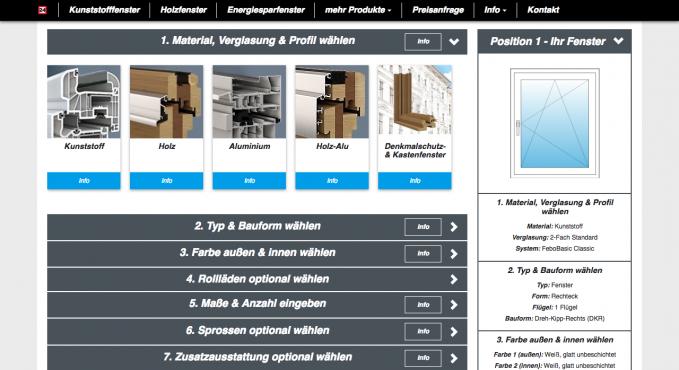 fenster24 fenster konfigurator testbericht konfigurator. Black Bedroom Furniture Sets. Home Design Ideas