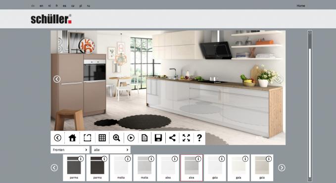 sch ller k chen konfigurator testbericht konfigurator verzeichnis. Black Bedroom Furniture Sets. Home Design Ideas