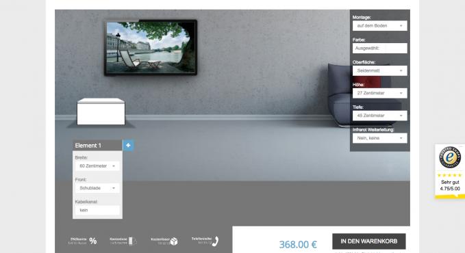 schrank konfigurator vergleich und testsieger konfigurator verzeichnis. Black Bedroom Furniture Sets. Home Design Ideas