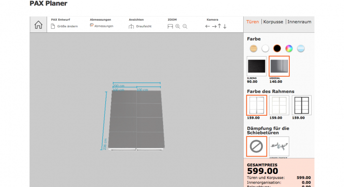 Ikea Pax Kleiderschrank Konfigurator Testbericht Konfigurator