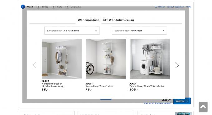 schrank konfigurator vergleich und testsieger. Black Bedroom Furniture Sets. Home Design Ideas